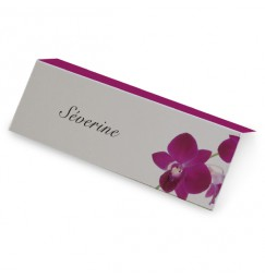 Place card orchid wrap