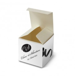 Wedding favor box corset