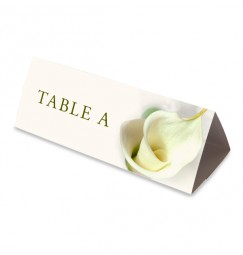 Nom table calla lily