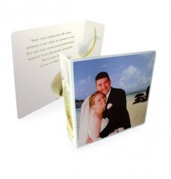 Original thank you card calla lily