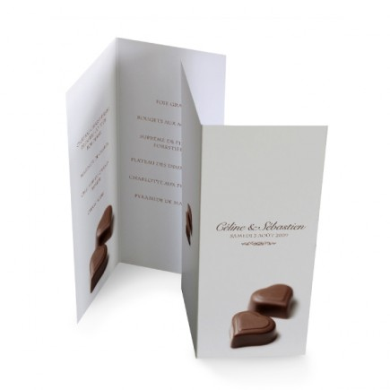 Menu individuel chocolat BF