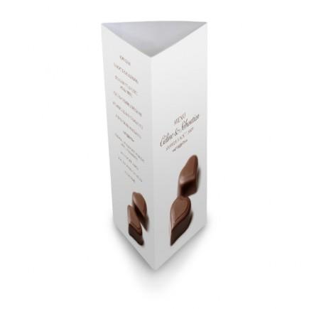 Menu de table chocolat BF