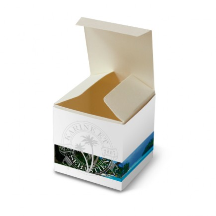 Wedding favor box caribbean beach