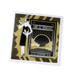 Wedding invitation the 20s