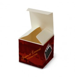 Wedding favor box silence motor action