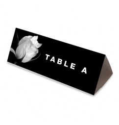 Table name black and white rose