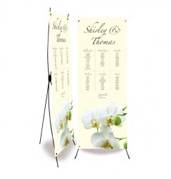 Plan de table mariage orchidée avorio