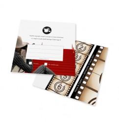 Carton réponse festival de cinéma