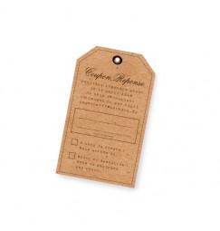 Carton réponse photomaton vintage