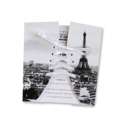 paris wedding invitation