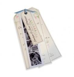Wedding invitation fanion photomaton