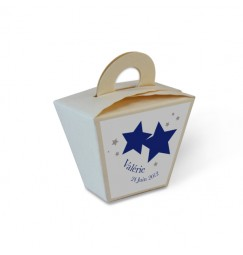 Favor box stars