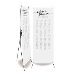 Plan de table mariage lettre d'amour