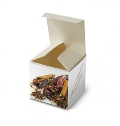 Wedding favour box spice wrap