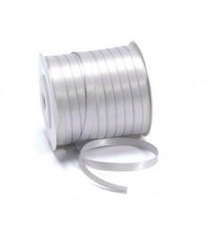 Ruban argent gris 6mm
