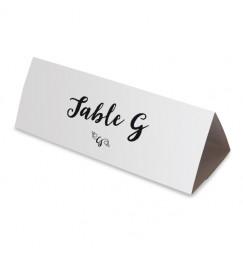 Nom table lettre d'amour