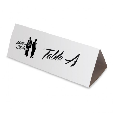Table name silhouettes