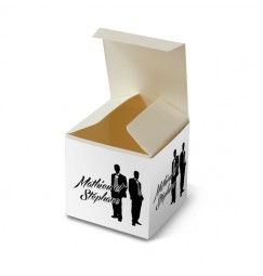 Wedding favour silhouettes