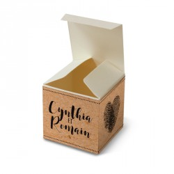 Wedding favour box vintage photo machine