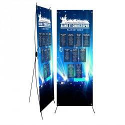 Table plan banner corset