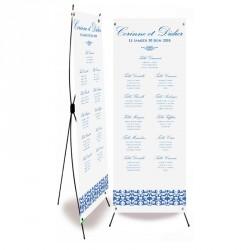 Plan de table mariage flower reef