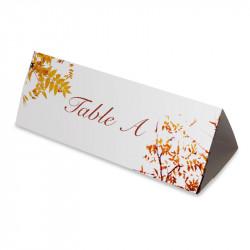 Nom table automne