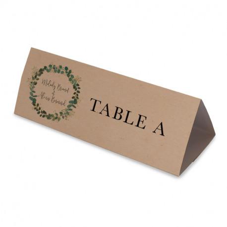 Nom table mariage eucalyptus