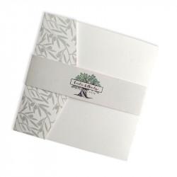 Wedding invitation olive tree