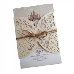 Wedding invitation Vincent Van Gogh