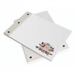 Wedding book elegant rose