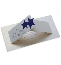 Birth announcement stars