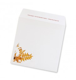 Wedding envelope Autumn
